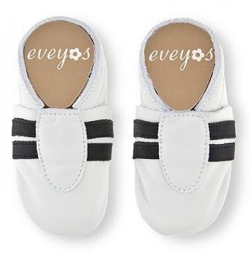 Krabbelschhuhe Sport weiß