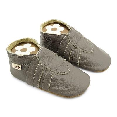 Krabbelschuhe Sneaker Basic grau