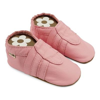 Krabbelschuhe Sneaker Basic rosa