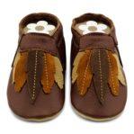 Babymoccasins Federn