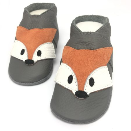 Krabbelschuhe Fuchs Orange