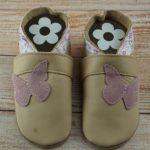 Babyschuhe Schmetterling