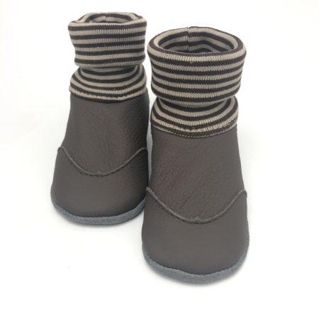 Lederstrumpf Braun mit Schutzkappen