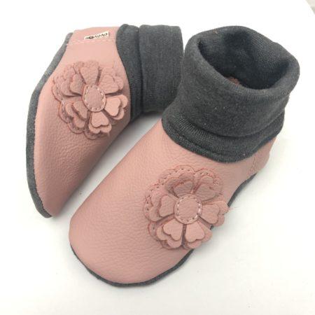 Lederstrumpf 3D Blume Rosa