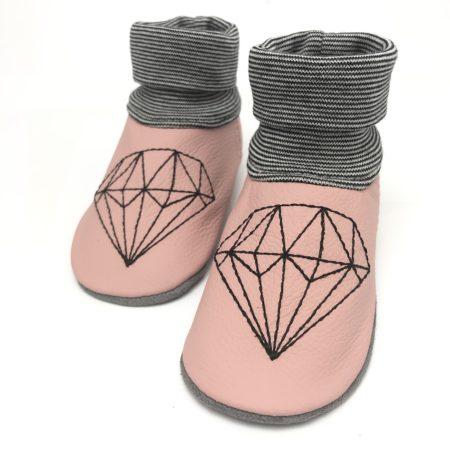 Lederstrumpf Diamant Rosa