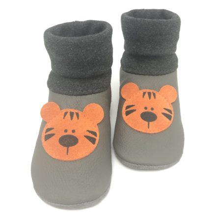 Lederstrumpf Tiger Grau/ Orange